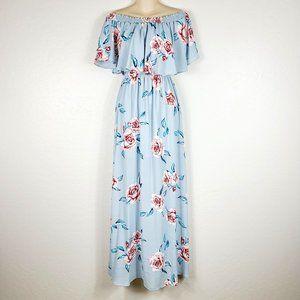 Show Me Your MuMu Off The Shoulder Maxi Dress